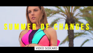Video Sedcard Model female